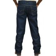 Calça Jeans Classic Corte Reto Com Strech