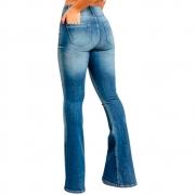 Calça Feminina Dicollani Jeans Flare Estonada