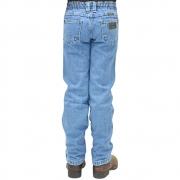 Calça Infantil Classic Jeans Delavê