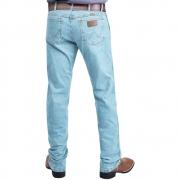 Calça Jeans Country Wrangler Corte Reto Delavê  Advanced Comfort