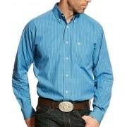 Camisa Ariat Xadrex Azul e Branco