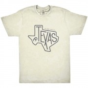 Camiseta Cowboys Bege Mescla Estampa Texas