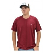 Camiseta Cowboys Gola Careca Lisa Marsala