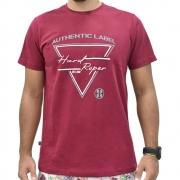 Camiseta Masculina Hard Roper Vinho Authentic Label