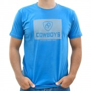 Camiseta Masculina Pai e Filho Cowboys Azul Established 1993