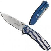 Canivete Importado Lâmina Lisa Azul USA