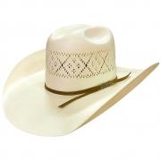 Chapéu de Palha Eldorado Natural 10x Shantung Ropers Rend