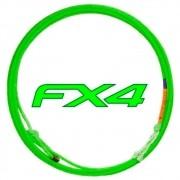 Corda de Laço Power Ropes FX4 Hard Medium 4 Tentos