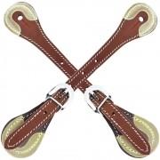 Correia de Espora Cowboys Estreita Marrom