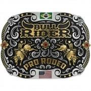 Fivela Pelegrini Boiadeira Bull Rider Pro Rodeo