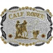 Fivela Pelegrini Boiadeira Calf Roper