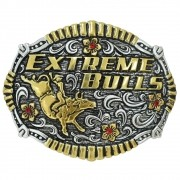 Fivela Pelegrini Boiadeira Extreme Bulls