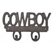 Gancho de Metal Duplo Importado Cowboy