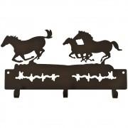 Gancho de Metal Triplo Importado 3 Cavalos