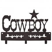 Gancho De Metal Triplo Importado Cowboy