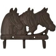 Gancho de Metal Triplo Importado Três Cavalos