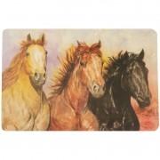 Jogo Americano Importado 3 Cavalos Individual