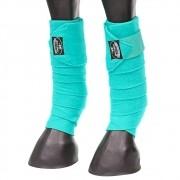 Liga de Descanso Boots Horse Verde Água