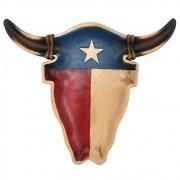 Petisqueira Importada Cabeça de Boi Texas