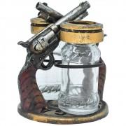 Suporte Importado Para Saleiro e Pimenteira Revolveres