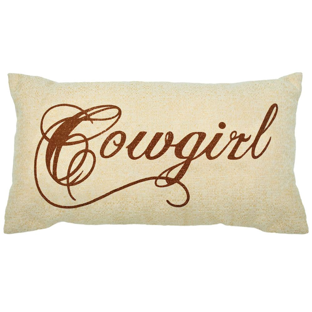 Almofada Bege Cowgirl Grande