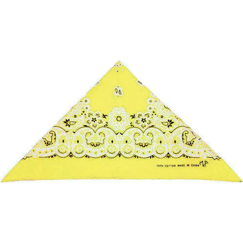 Bandana Importada Amarelo Claro