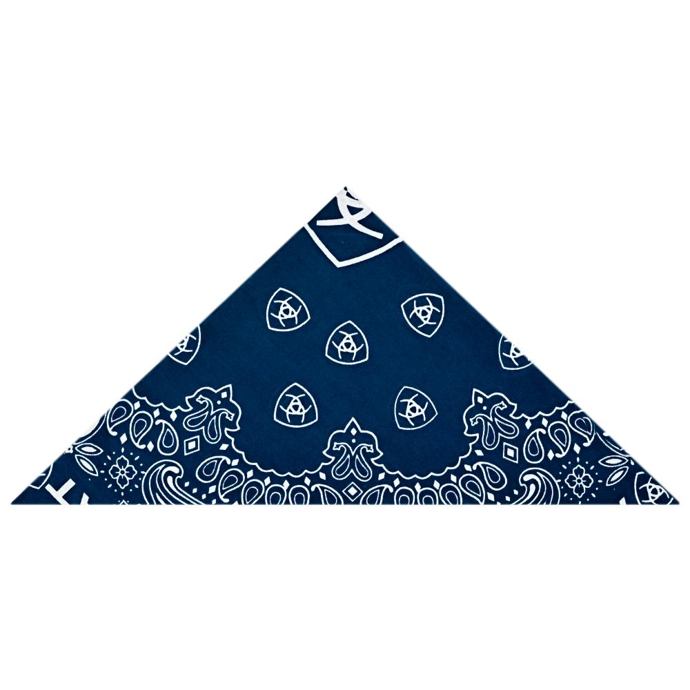 Bandana Importada Ariat Azul Marinho
