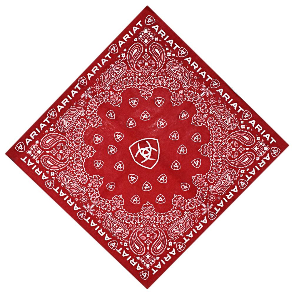 Bandana Importada Ariat Vermelha