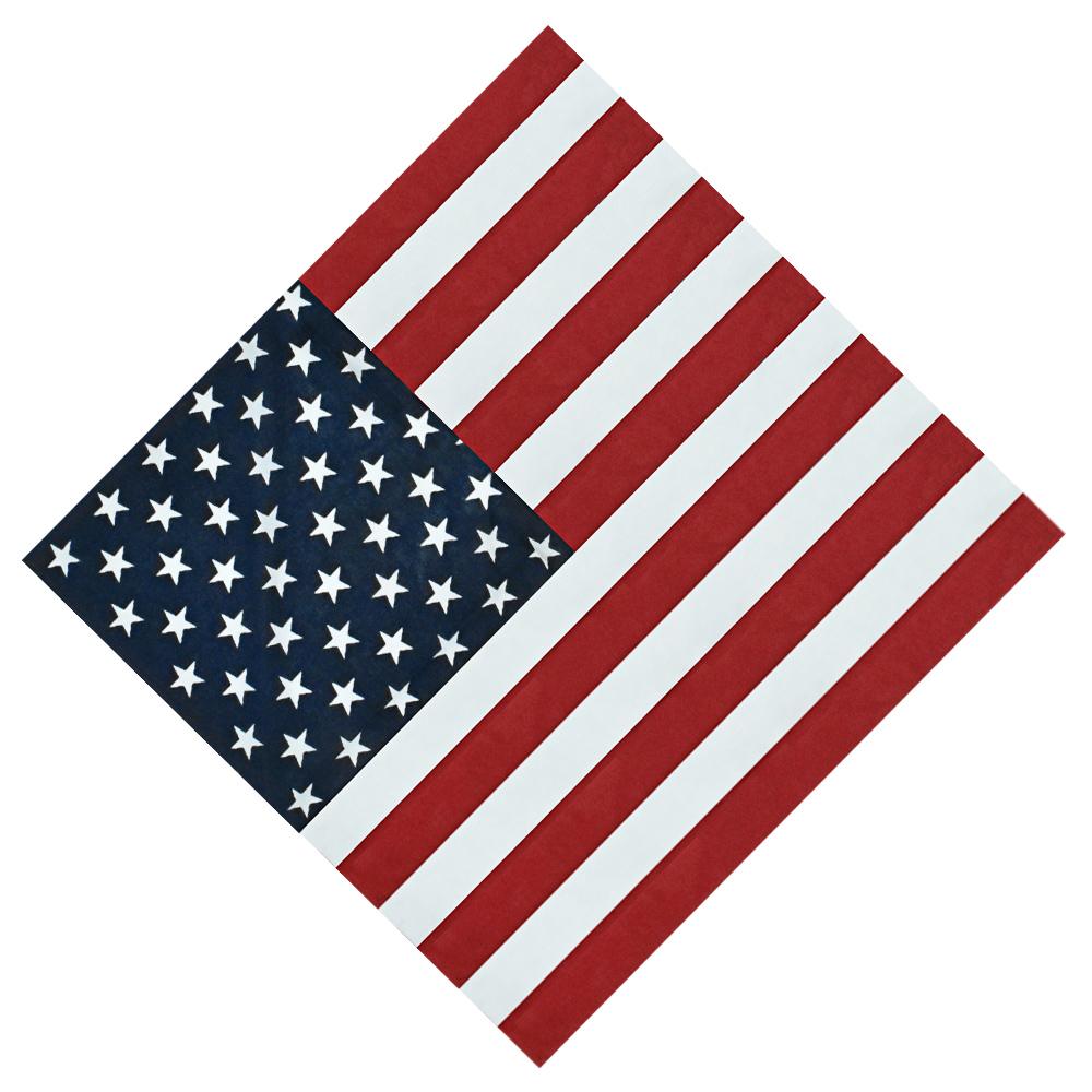 Bandana Importada Bandeira USA