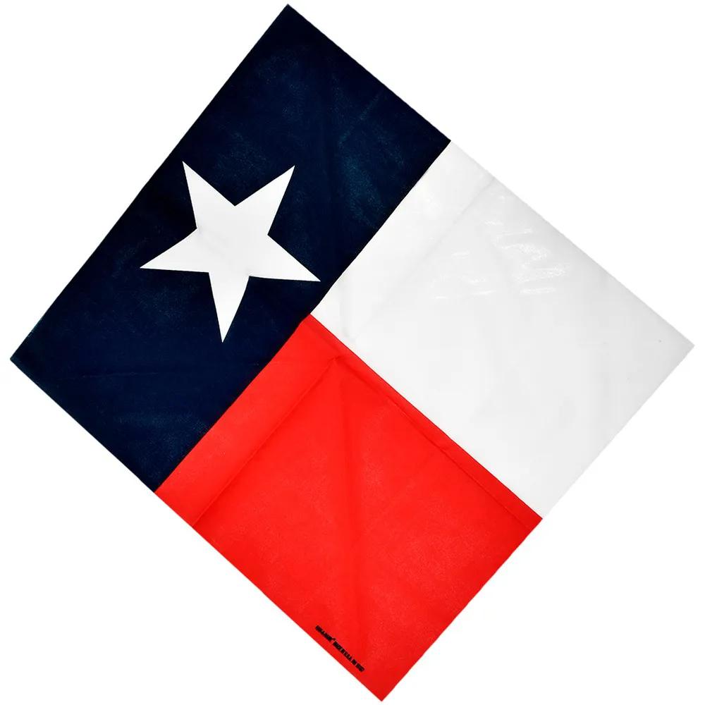 Bandana Importada Western Bandeira Texas