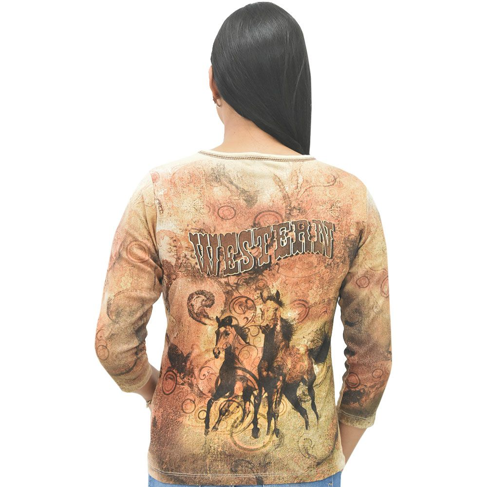 Blusa Feminina Importada Western