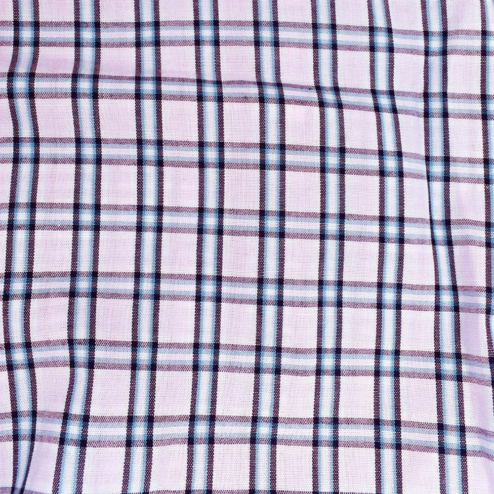 Body Camisa Cowboys Xadrez Rosa, Azul e Branco