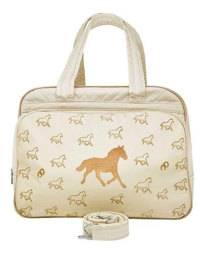 Bolsa para Bebê Cowboys Bege com cavalinhos