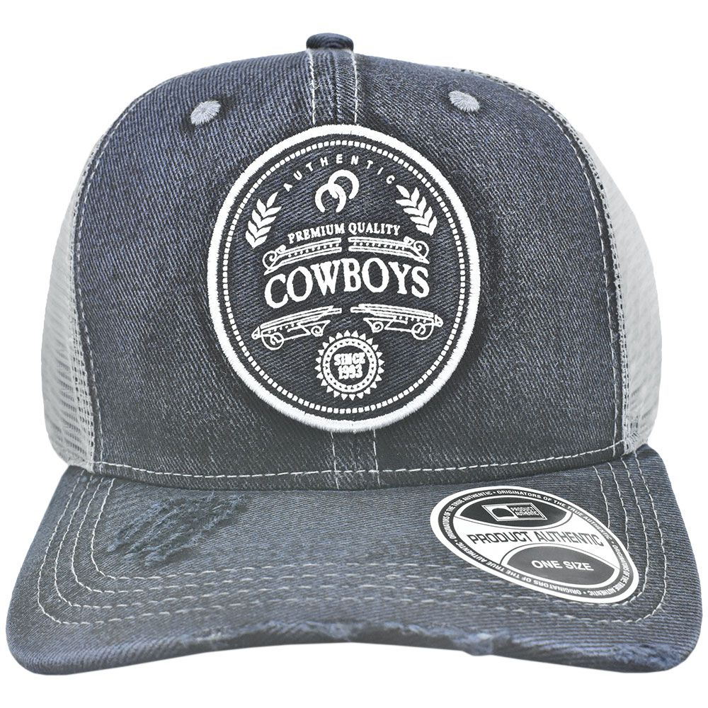 Boné Cowboys Jeans com Tela 1993