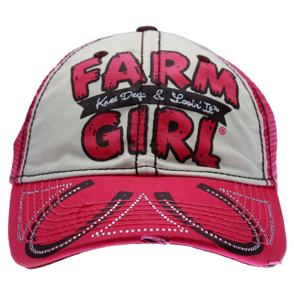 Boné Feminino Farm Girl Knee Deep