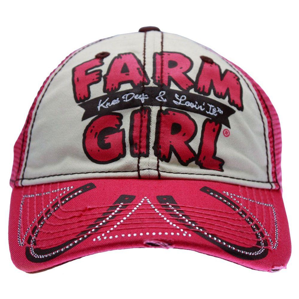 Boné Feminino Farm Girl Knee Deep