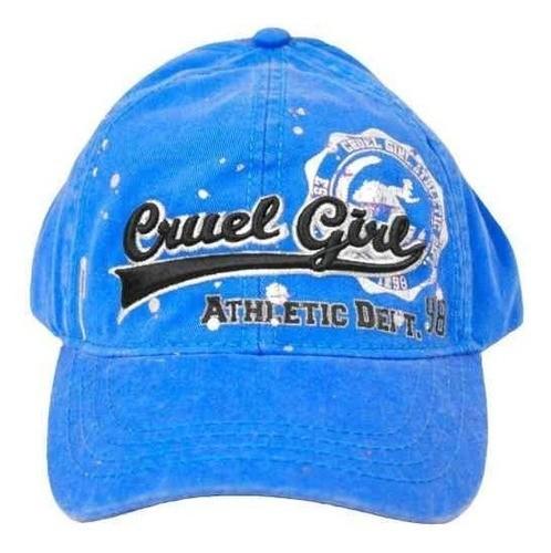 Boné Importado Feminino Azul Athletic Cruel Girl