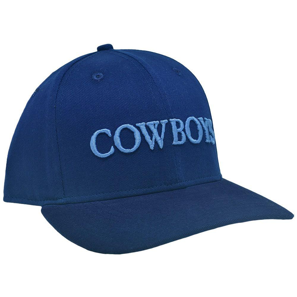 Boné Infantil Cowboys Azul Escuro Bordado
