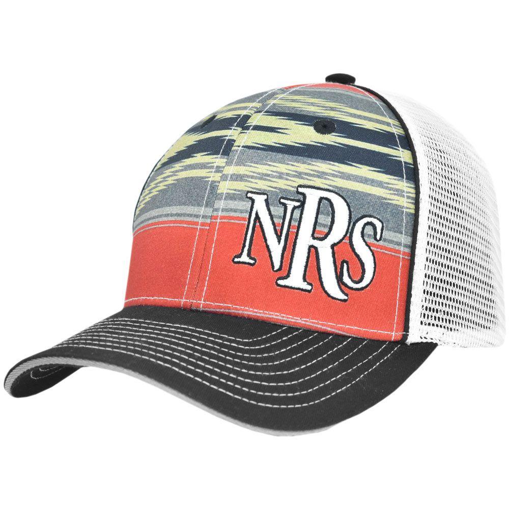 Boné NRs Ranch Vermelho com Preto com Tela