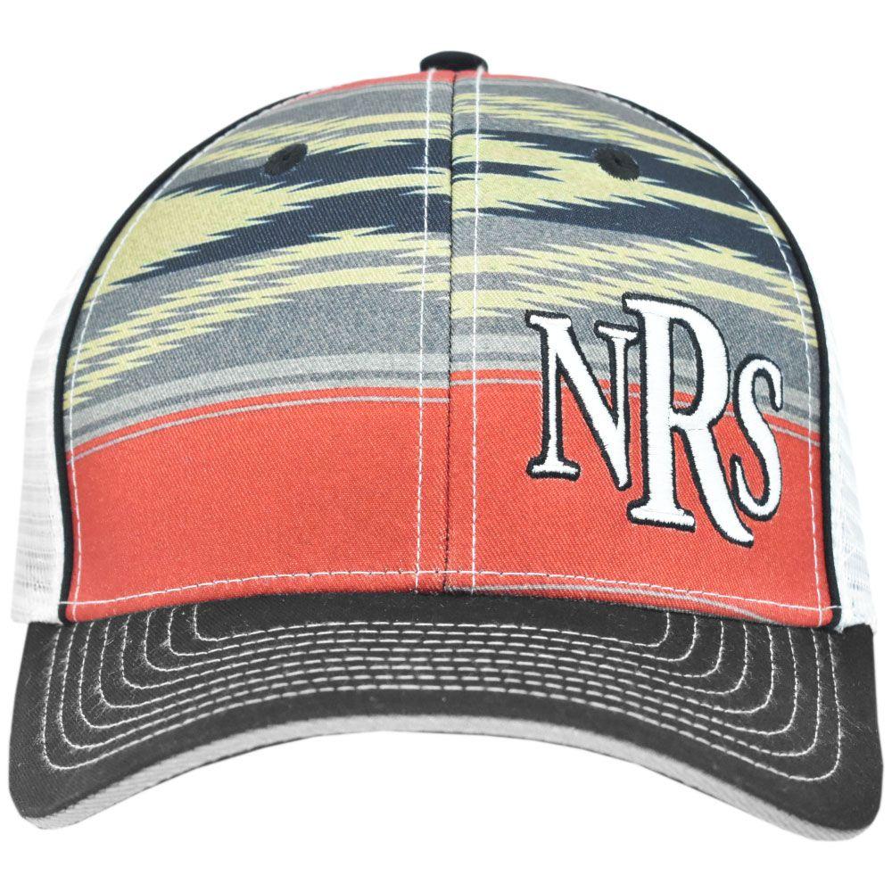 Boné NRs Ranch Vermelho e Preto com Tela