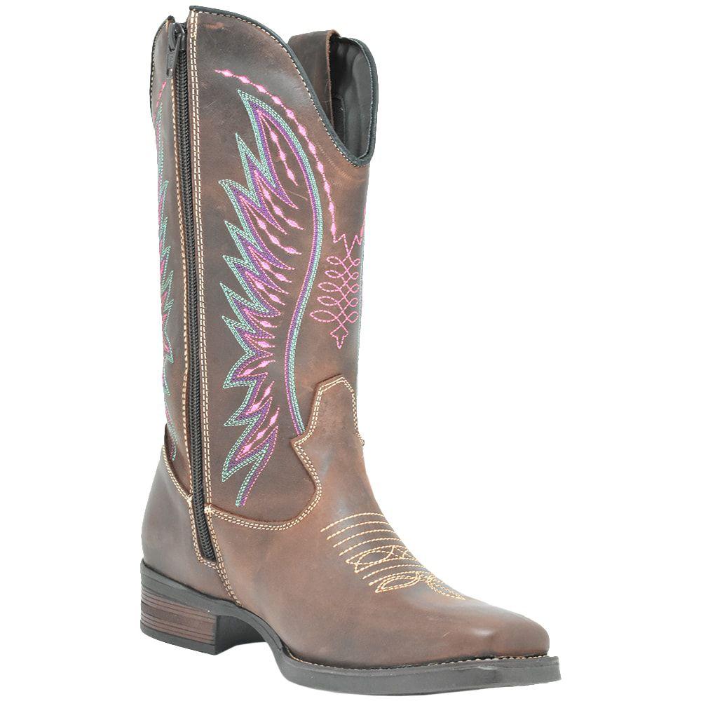 Bota Feminina Cowboys Texana