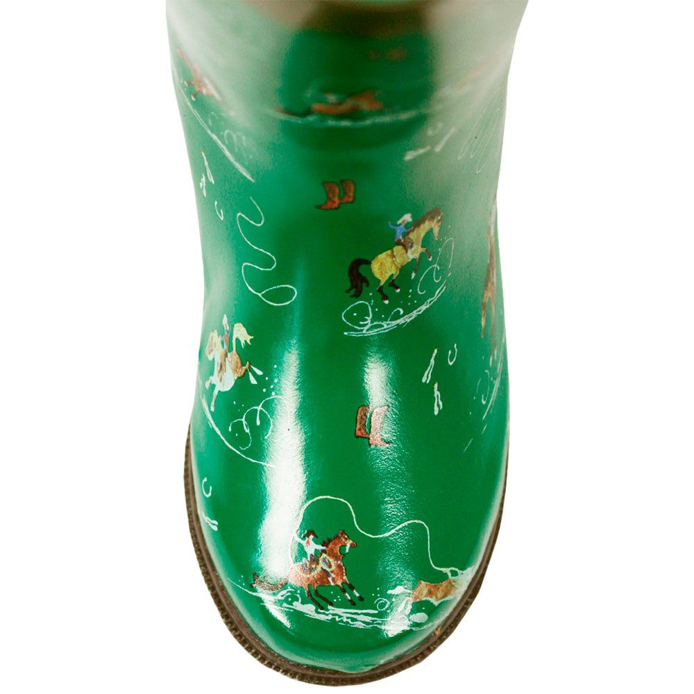 e785ea79c48 ... Bota Galocha Infantil Importada Verde Modalidades do Mundo Country -  Cowboys