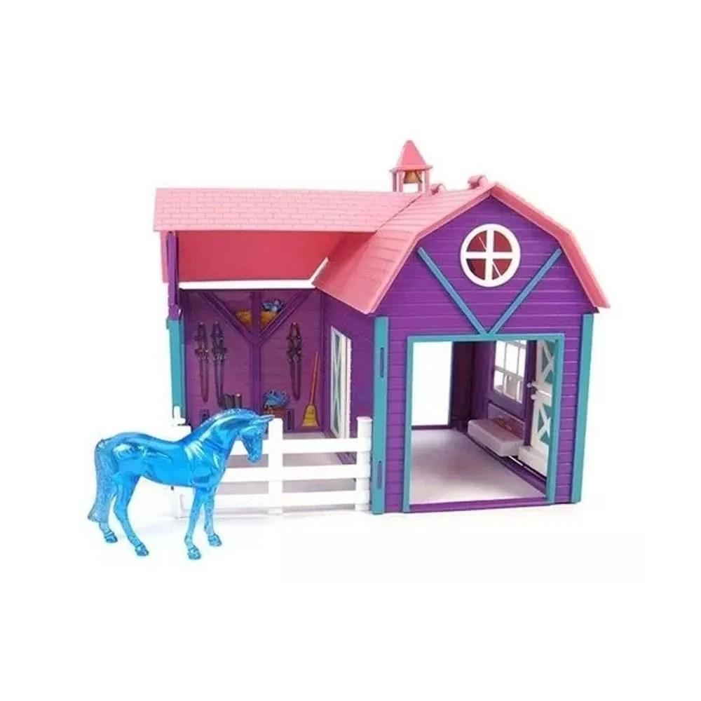 Brinquedo Breyer Cocheira Horse Crazy