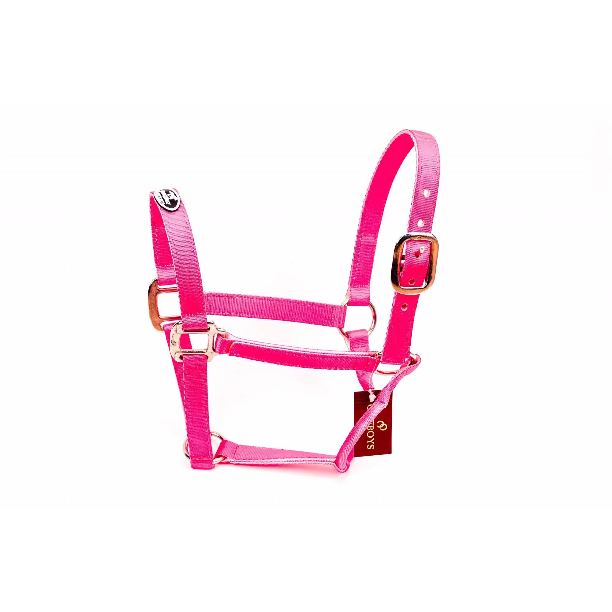 Cabresto Boots Horse em Nylon Pink