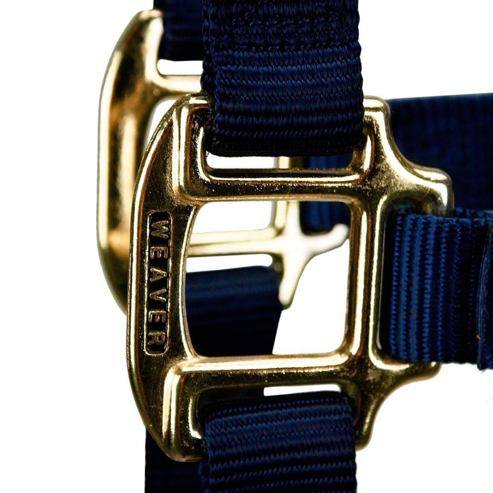 Cabresto Weaver Leather Regulável em Nylon Azul