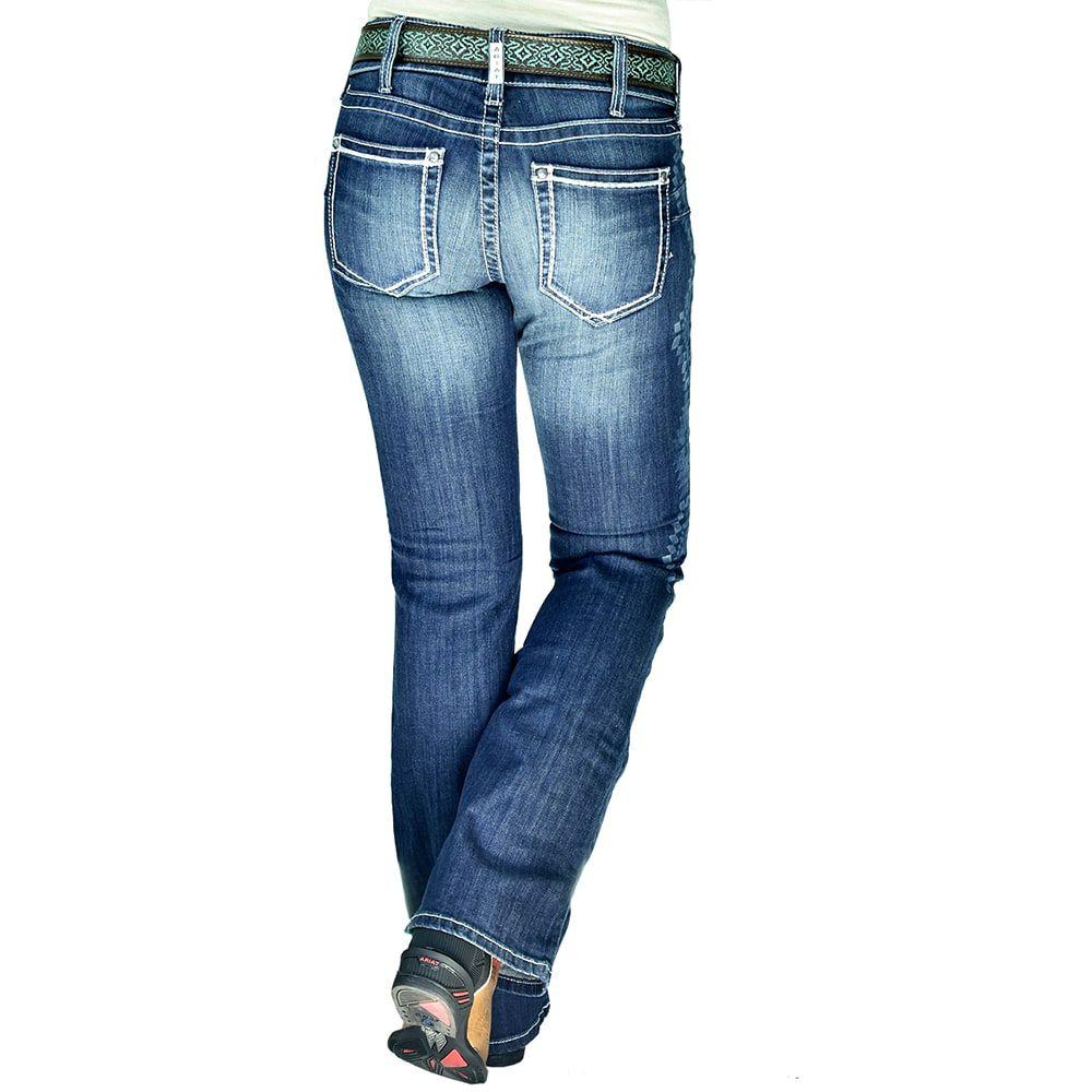 Calça Jeans Feminina Ariat Baltic Jean Flare