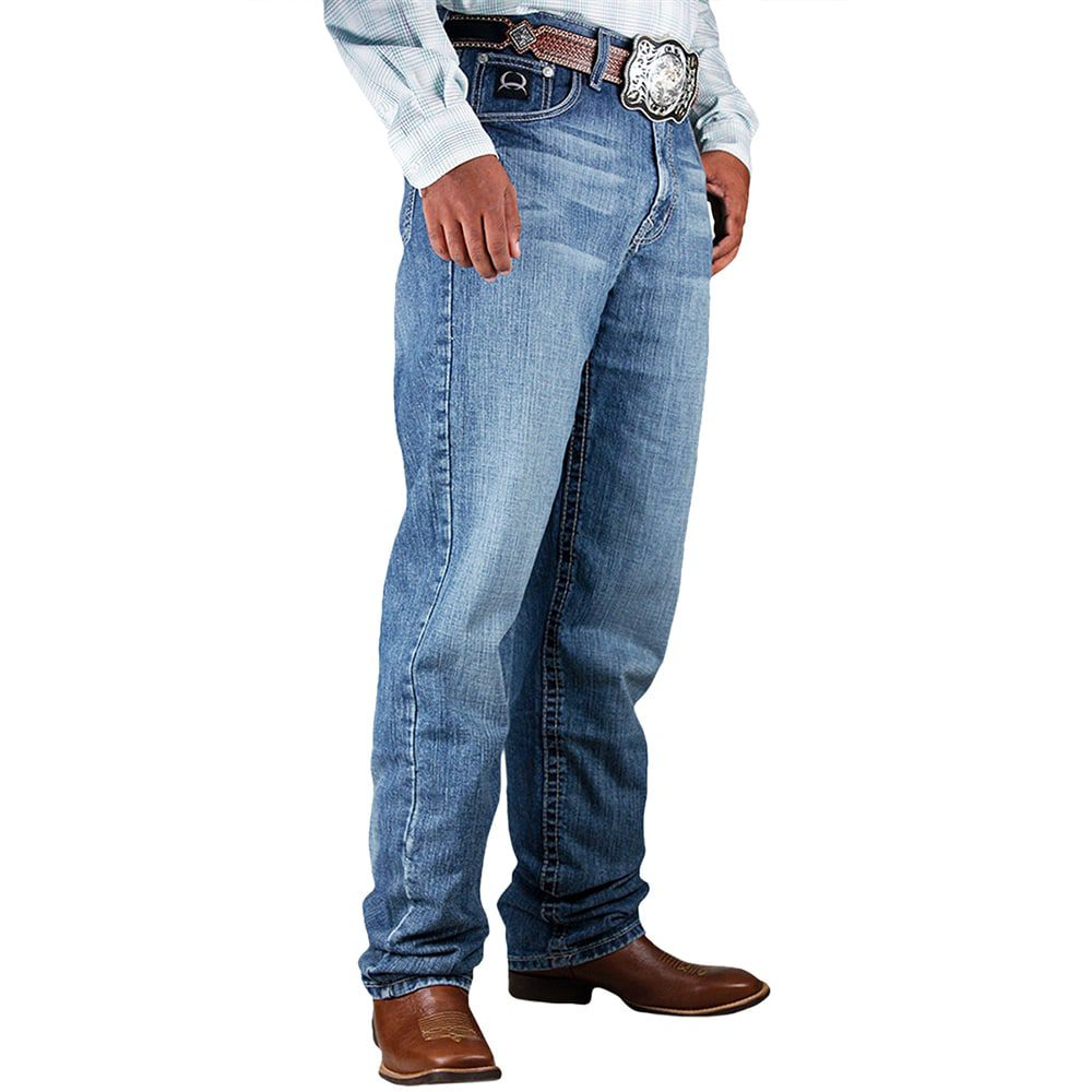 Calça Jeans Cinch Black 2.0 Relaxed Fit Stonada