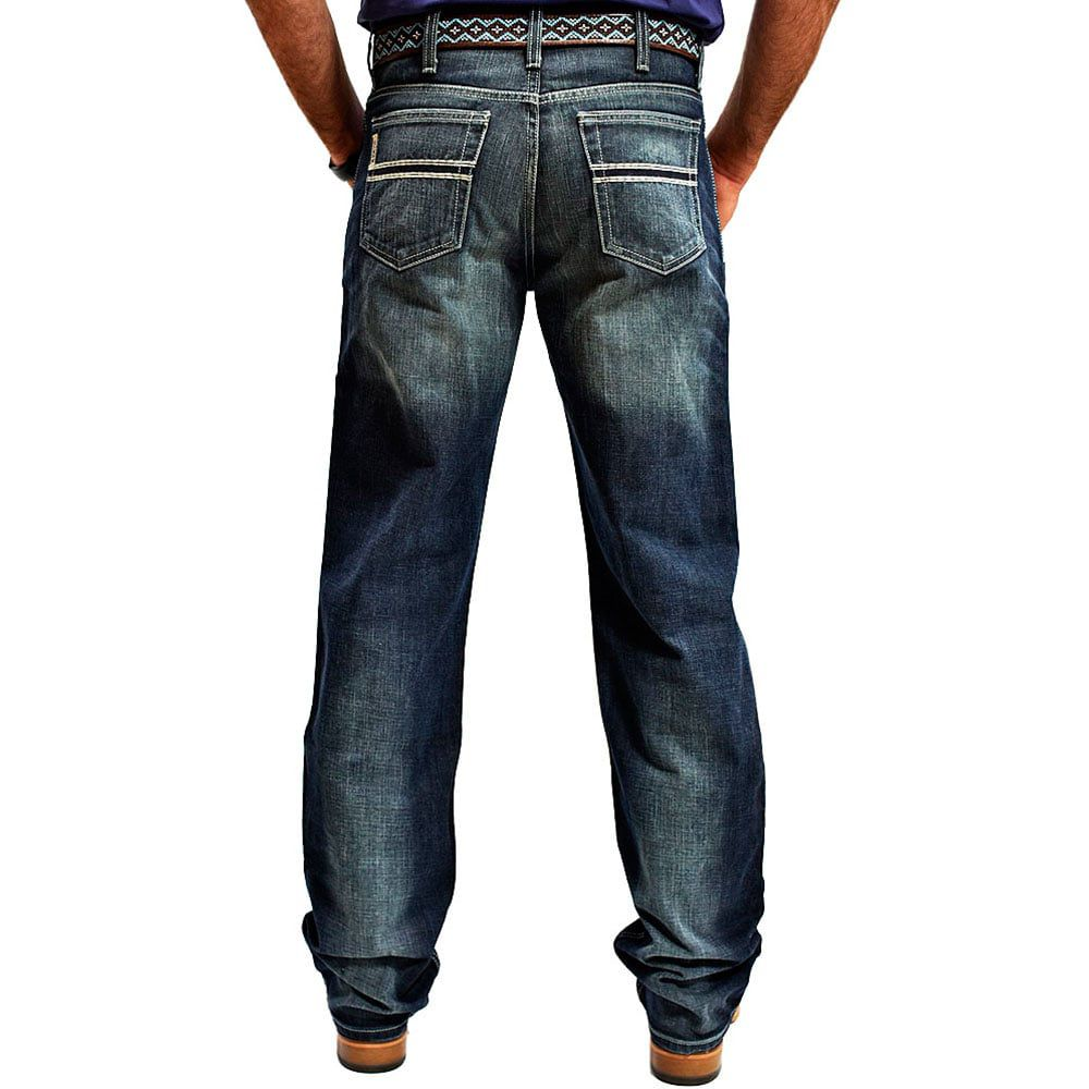 Calça Jeans Cinch White Label Relaxed Fit Dark