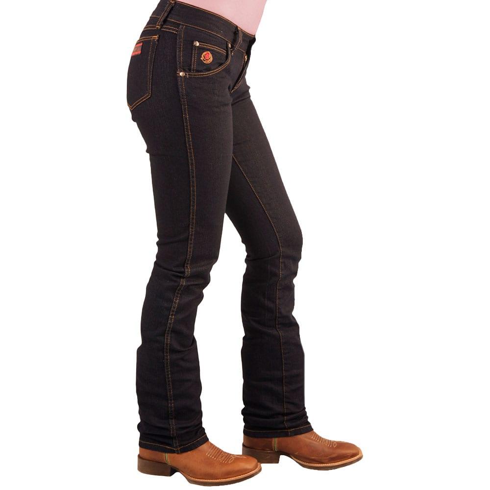 Calça Jeans Feminina Wrangler 20X Slim Fit Azul
