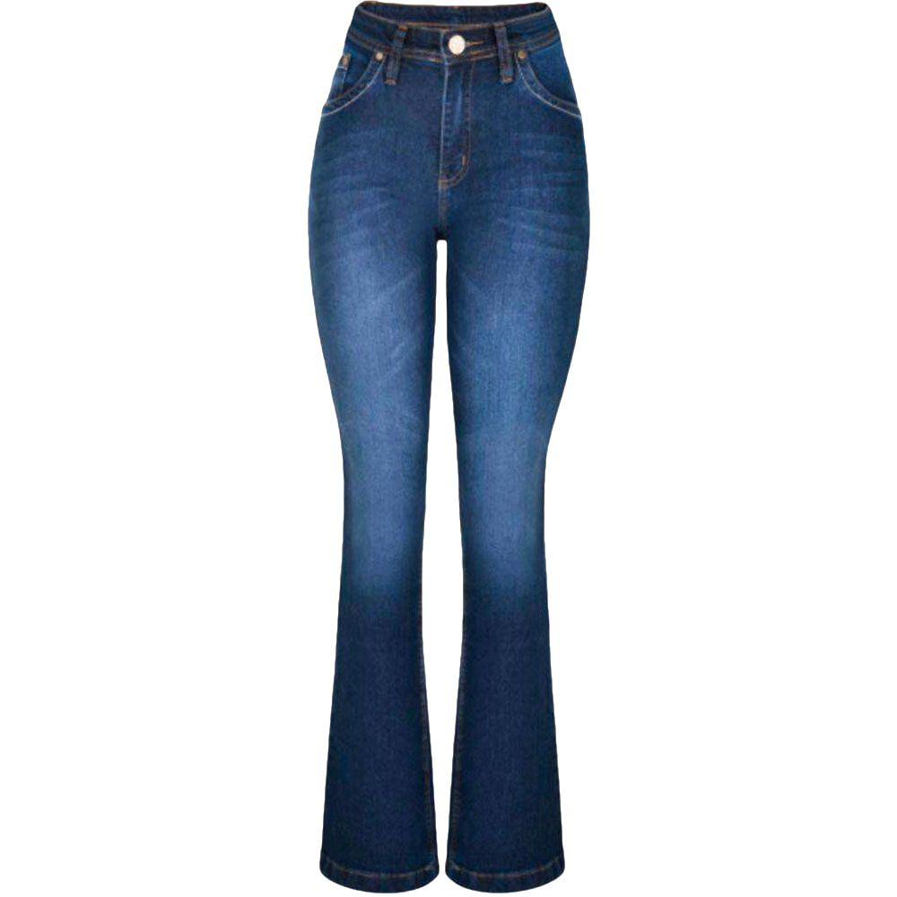 Calça Jeans Feminina Wrangler Flare West Fashion